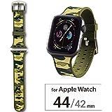 エレコム Apple Watch バンド 44mm/42mm シリコン 迷彩   カモフラ(グリーン) AW-44BDSCCMG