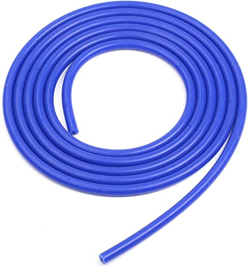 1//8 inch // 3mm, Blue BLACKHORSE-RACING Universal Silicone Vacuum Hose Tube High Performance Pipe 10 Feet Length