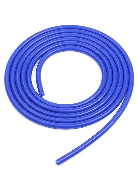 BLACKHORSE-RACING Black 3//8 10mm Silicone Vacuum Hose Tube High Performance Pipe 5 Feet