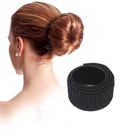 Hosaire peluca fabricante de bollo/pelo Donut/cabello Bun Donut pelo pieza Bob Maker
