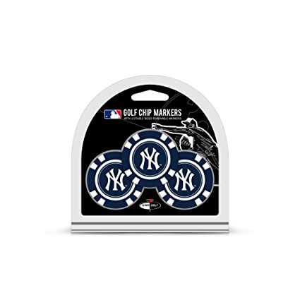 91c7b0d93e4e5d Image Unavailable. Image not available for. Color: Team Golf MLB New York  Yankees Golf Chip Ball Markers ...