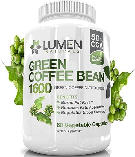 estratto di caffè verde in grani 500 mg 90 capsule vegetali