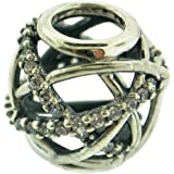 Pandora Women Sterling Silver cubic zirconia Accessories