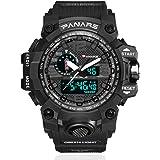 Men's Military Analog Digital Watch Display...