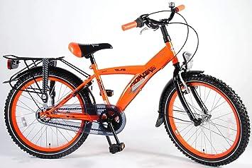 Bicicleta Niño 20 Pulgadas Thombike City con Shimano Nexus de 3 Velocidades y Portaequipajes Trasera Naranja 95% Montada: Amazon.es: Deportes y aire libre