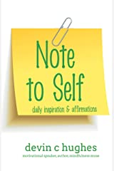 Note to Self: Daily Inspiration & Affirmations (Volume 7) Kindle Edition