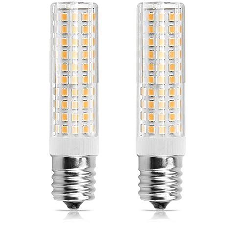 E17 LED bombilla regulable 6 W luz horno de microondas, congelador, under-microwave