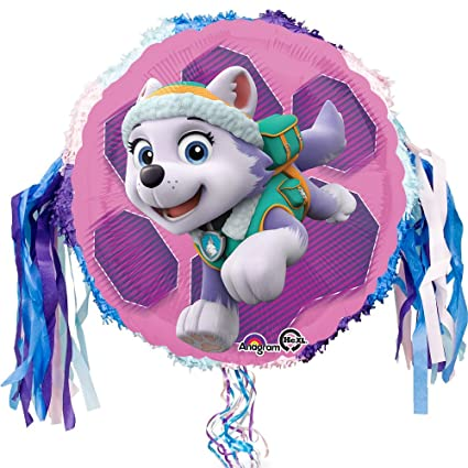 Amazon.com: Paw Patrol Skye y Everest Cumpleaños Tire Cadena ...