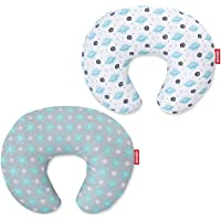 Nursing Pillow Cover 2 Pack, for Infant Snug Fits Boppy Nursing Pillows, Breastfeeding Nursing Pillow Slipcovers Super…