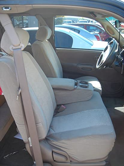 Peachy Durafit Seat Covers T787 D8 Cl C 2000 2004 Toyota Tundra Front 40 60 Split Seats With Fold Down Console Dark Gray Automotive Twill With Conceal Uwap Interior Chair Design Uwaporg