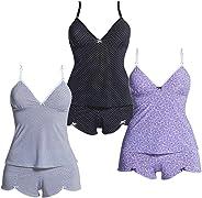 Kit com 3 Baby Dolls - Polo Match
