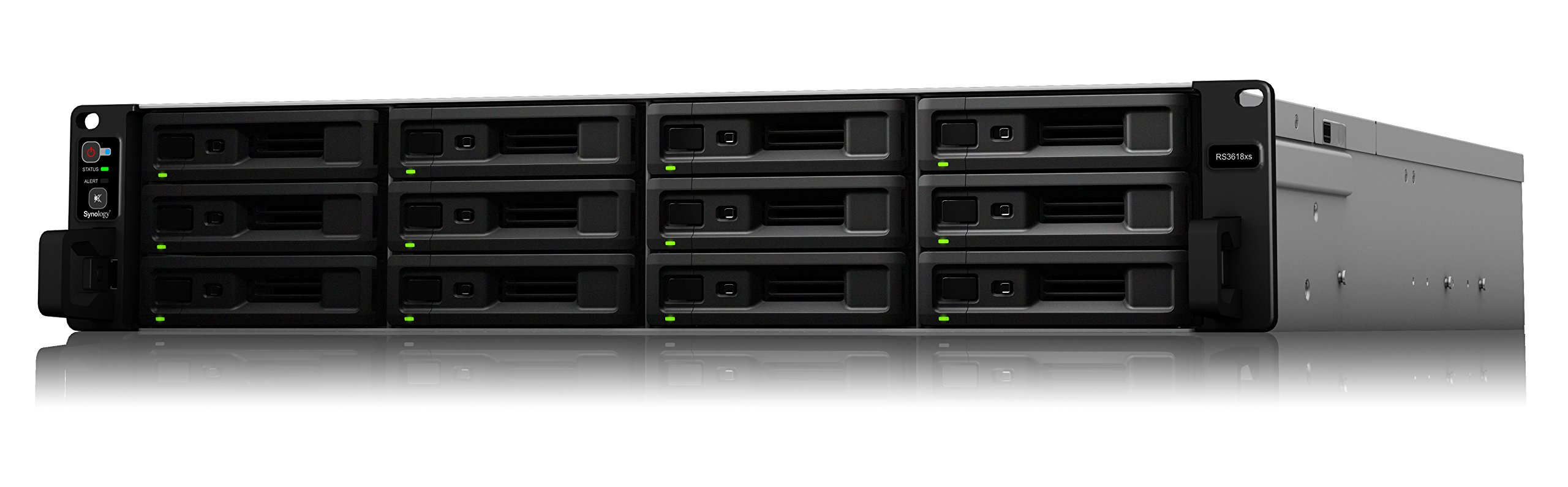 Synology 12bay NAS RackStation RS3618xs (Diskless), RS3618xs by Synology