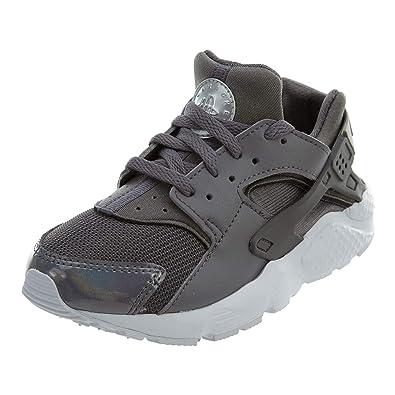 NIKE Huarache Run Little Kid s Shoes Gunsmoke Gunsmoke 704951-013 (1 M US 318fb1c5e3