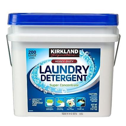 Kirkland lavandería detergente Super concentrado en polvo