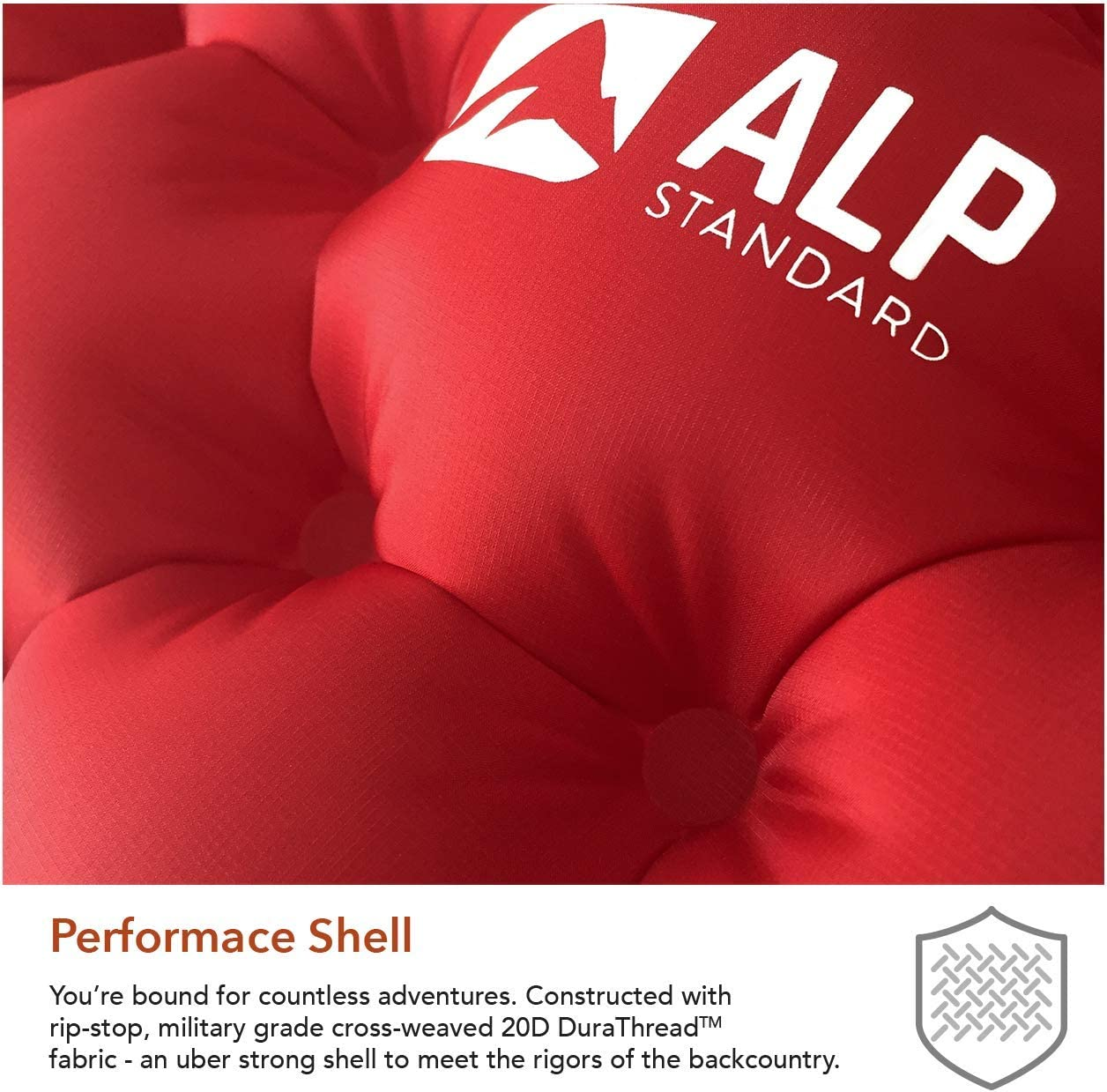 Amazon.com: ALP STANDARD Almohadilla de dormir ultraligera ...