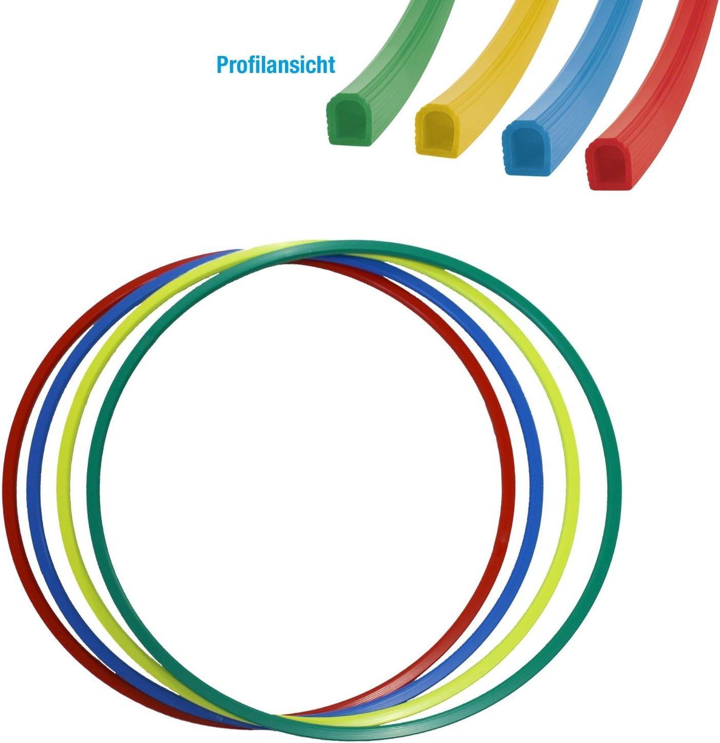 Gymnastikreifen Hula-Hoop Reifen 80 cm Durchmesser Farbe gr/ün