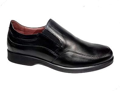 Zapatos cómodos de Hombre Fabricados en España con elásticos. Calzado Transpirable y cómodo 24 Horas. Disponible Tallas 39-47 - Primocx 7703N (43): Amazon.es: Zapatos y complementos
