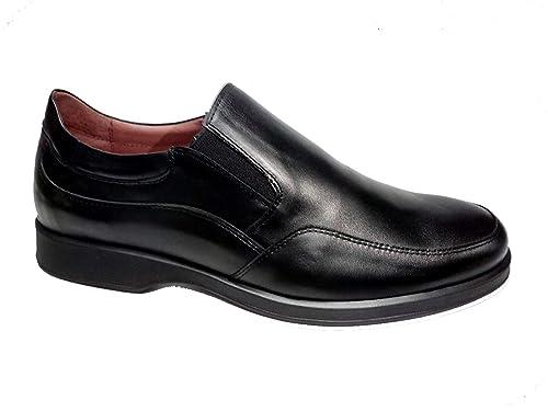 Zapatos cómodos de Hombre Fabricados en España con elásticos. Calzado Transpirable y cómodo 24 Horas