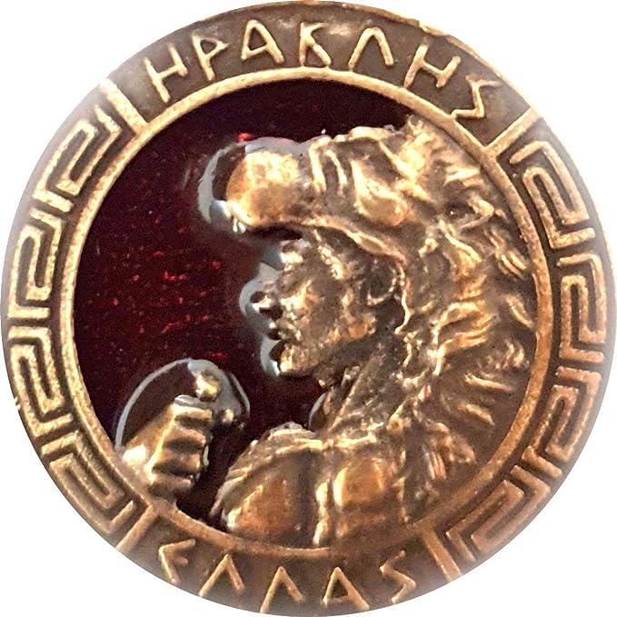 IconsGr - Llavero, diseño de Escudo de hércules, Color Rojo ...