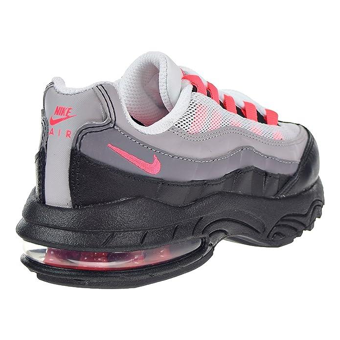910f00f911 Amazon.com   Nike Air Max '95 Little Kids' Running Shoes Black/Solar Red/Gunsmoke  905461-007   Running