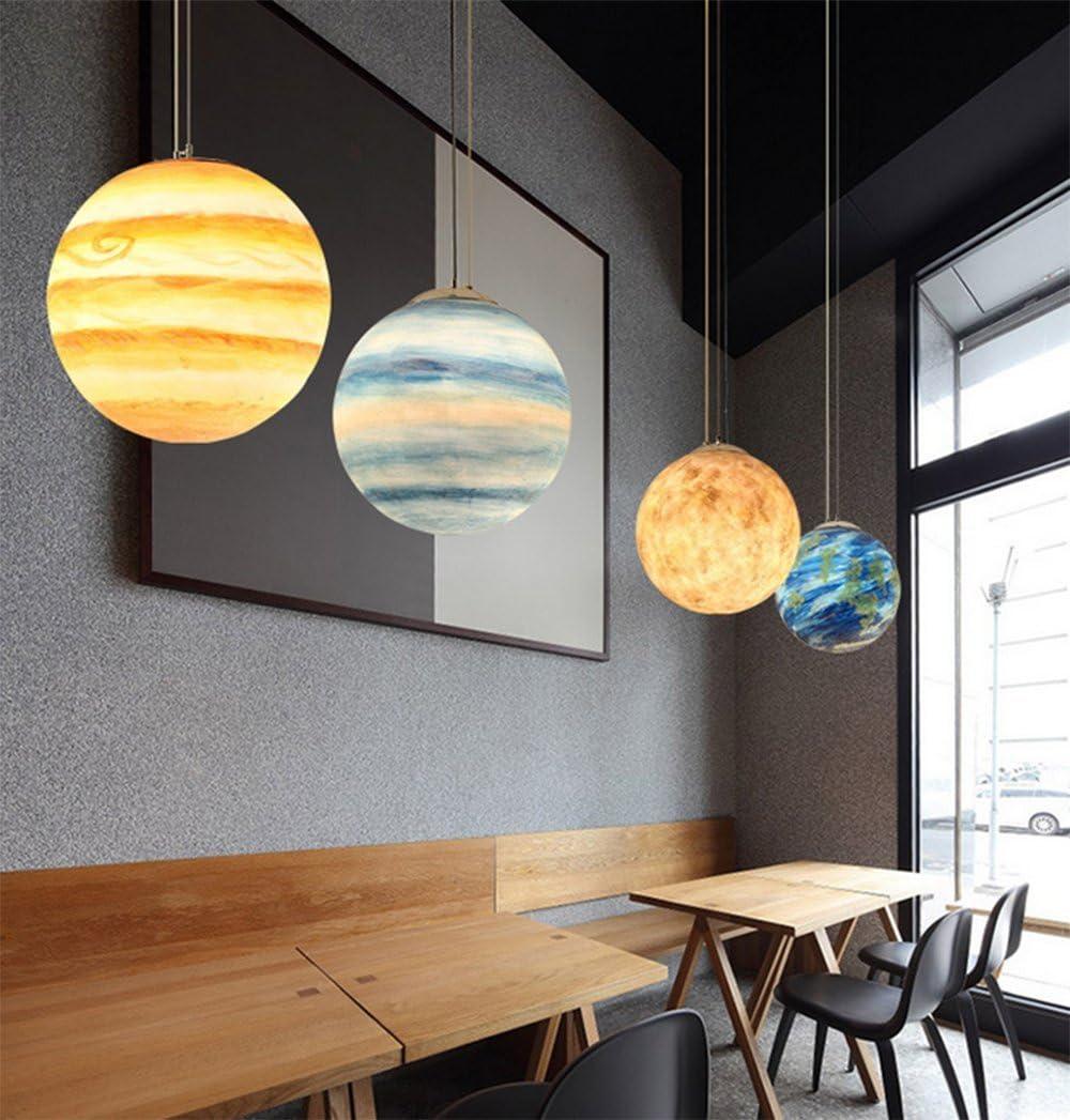 SQL Moderne Acrylharz Kronleuchter Wohnzimmer Esszimmer Kinderzimmer Planet Lampen,A