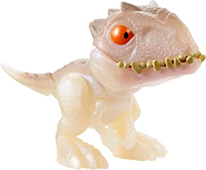 Jurassic World Snap escuadrón Mini Figura-Carnotaurus