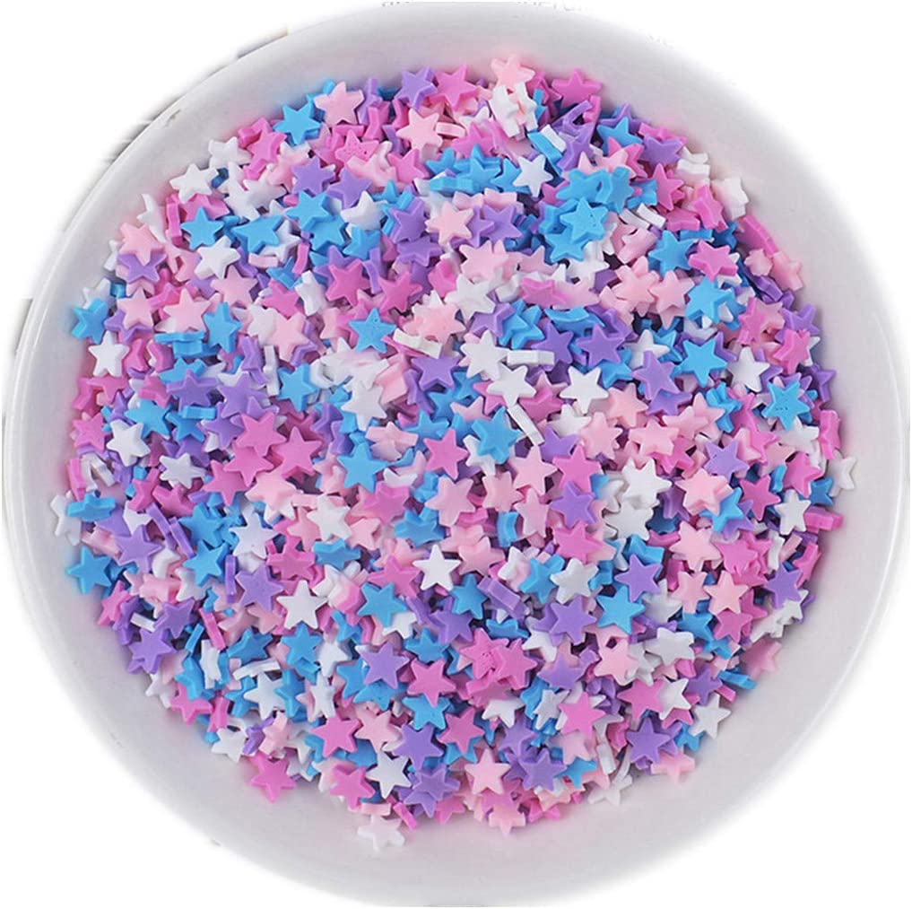 100g Resin Flatbacks Slime Accessories Clay Sprinkles Decoration for Slime Charms Filler DIY Slime Supplies Fake Candy Chocolate Cake Dessert Mud Particles Toy Scrapbook Phone Case needle1