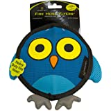 Hyper Pet Firehose Flyers Owl Durable Squeaky Dog Toy