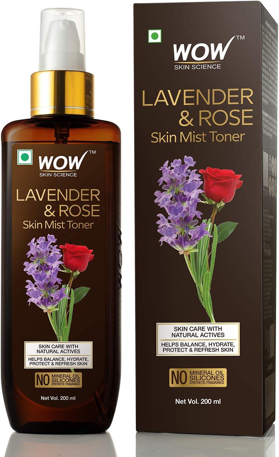 WOW Lavender & Rose Mist Toner