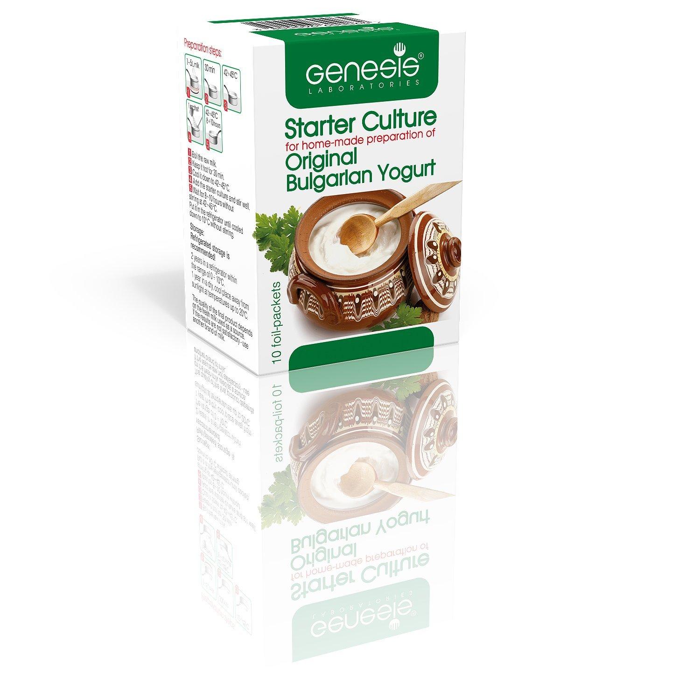 Bulgarian Starter Culture for Traditional Yogurt - natural - up to 50 liters Genesis Laboratories