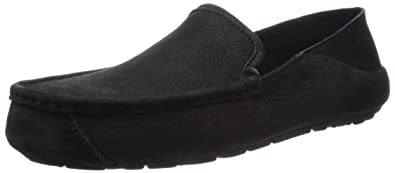 Ugg Australia Men's Hunley Casual Black Loafers ...