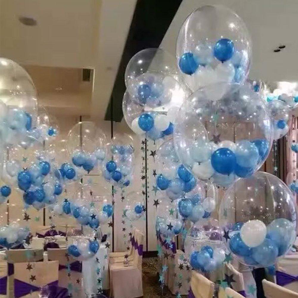 Globos gigantes para rellenar dando opción a muchas opciones decorativas.