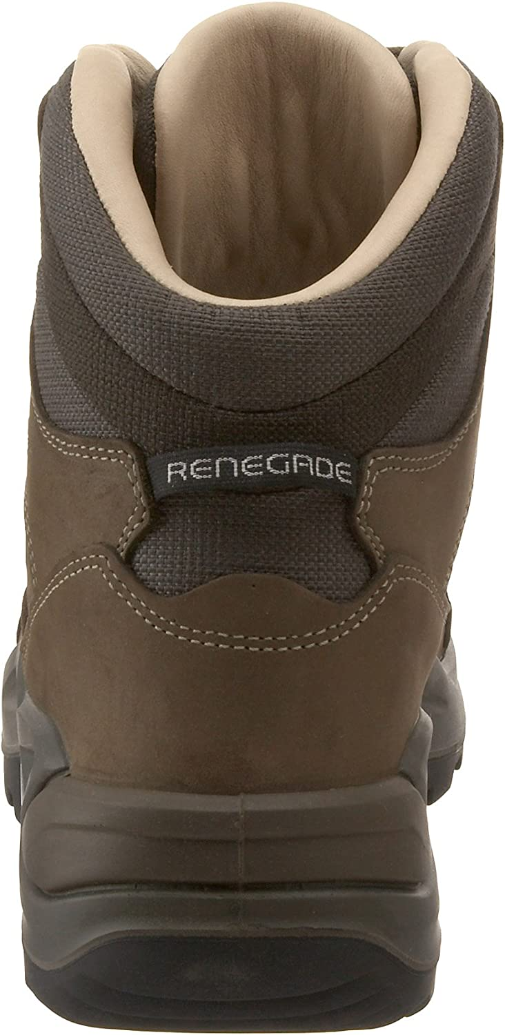 Lowa Men's Renegade II Leather-Lined Mid Hiking Boot Stone