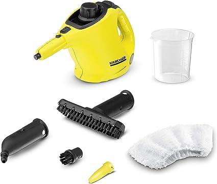 Kärcher Limpiadora de Vapor Manual SC1 (1.516-300.0) + Boquilla para limpieza de cristales (2.863-025.0): Amazon.es: Hogar