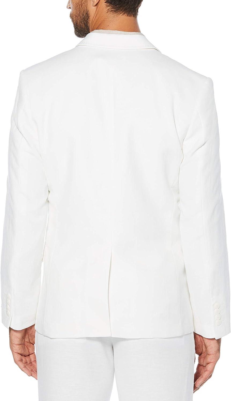 Cubavera Mens Easy Care Linen Blend Jacket