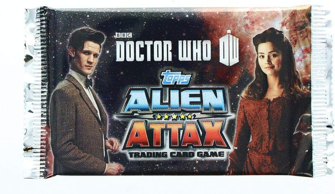 Doctor Who Alien Attax Trading Card Game Booster PACK