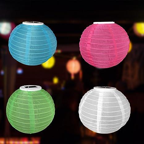 Solar - Esfera de papel (Diámetro 28 Cm - Lámpara de techo ...