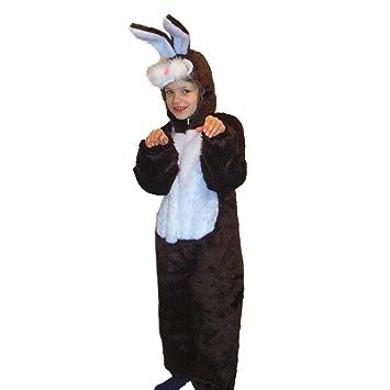 Los niños Traje del Conejo, tamaño 140, Animal Carnaval ...