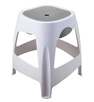 Badhocker Dusch-Hocker für Bad, Dusche, Haushalt mit Aufbewahrung und  Stauraum unter Sitzfläche. Stabil und rutschfest. Einzeln oder im 2er Set  in ...