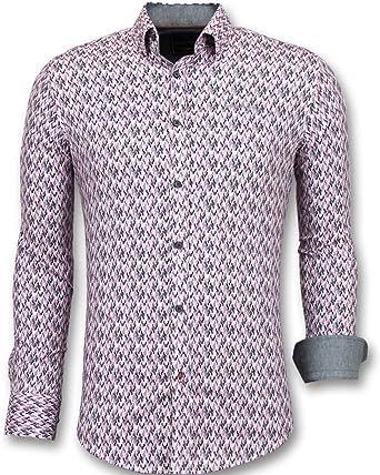 TONY BACKER Modelos de Camisas Slim fit - Camisas largas para ...