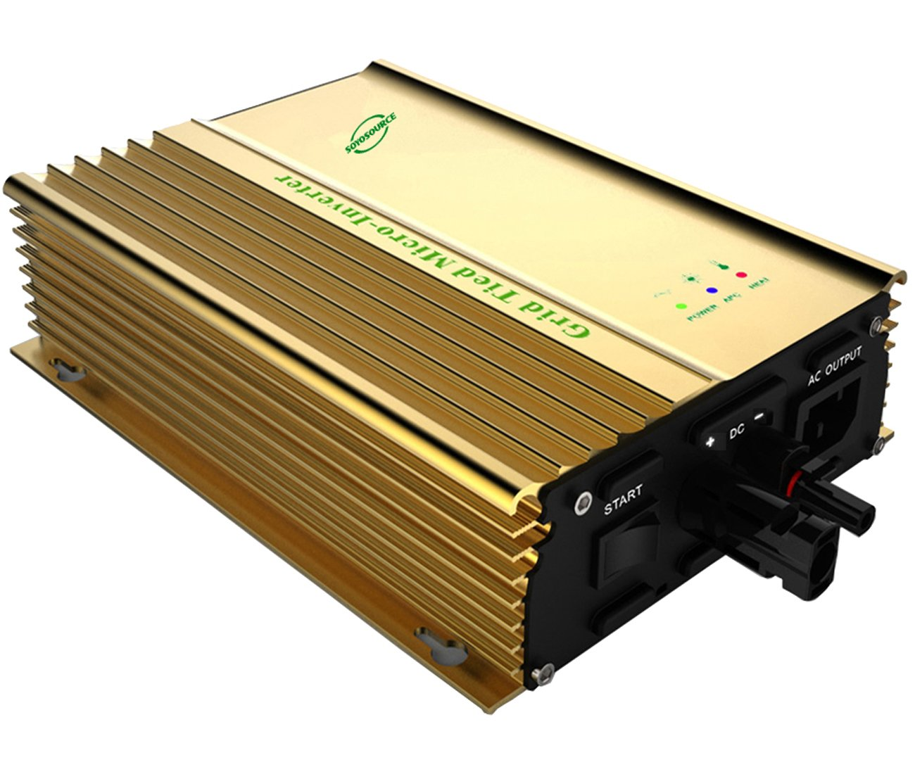 SOYOSOURCE 500 watt Inverter for 48v Battery high Efficiency Grid tie Micro Inverter for Solar Panels Open Voltage 50~86V or 48V Battery Pure Sine Wave Home invertor(500W PV-Input:50V-86V) by SOYOSOURCE (Image #2)