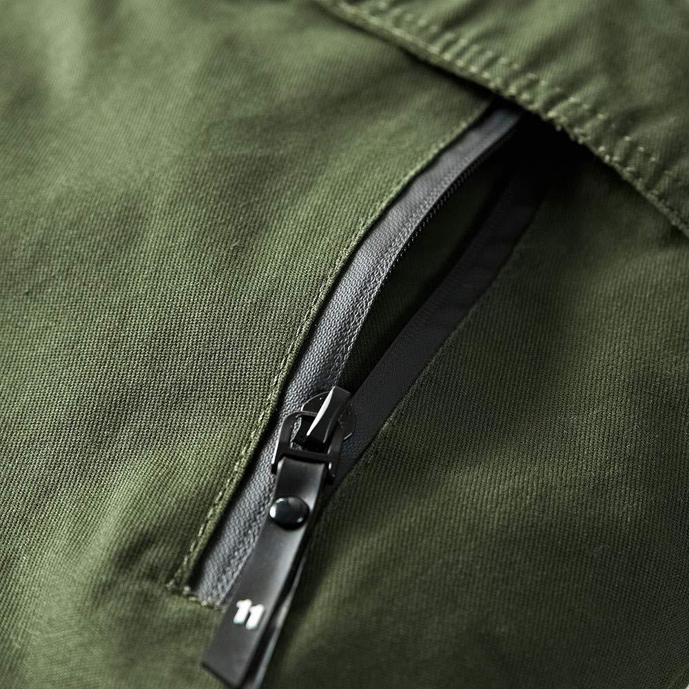 87b426345ce4d2 Jacken, Mäntel & Westen Komise Herren Winter Warme Kapuzenjacke mit  Reißverschluss Fester Fleece-Mantel M-2XL