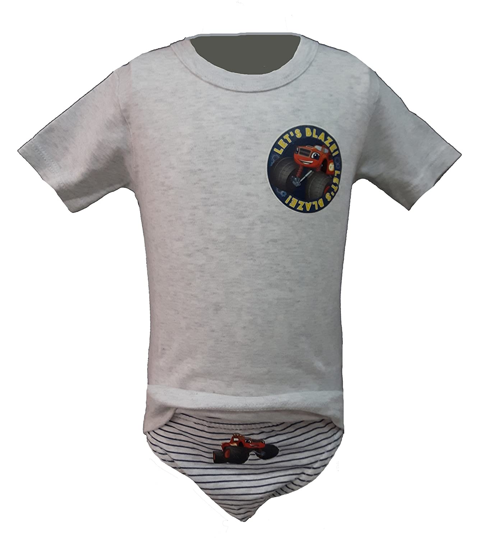 coordinato bimbo t-shirt + slip BLAZE caldo cotone art.BL13000 (4/5 anni, grigio)