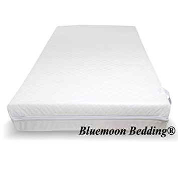on sale c0d3c 3ee24 Baby Travel Cot Mattress 100 x 70 x 7.5 CM QUILTED Fits Most Graco/M&P  Cots, Breathable Anti Allergenic