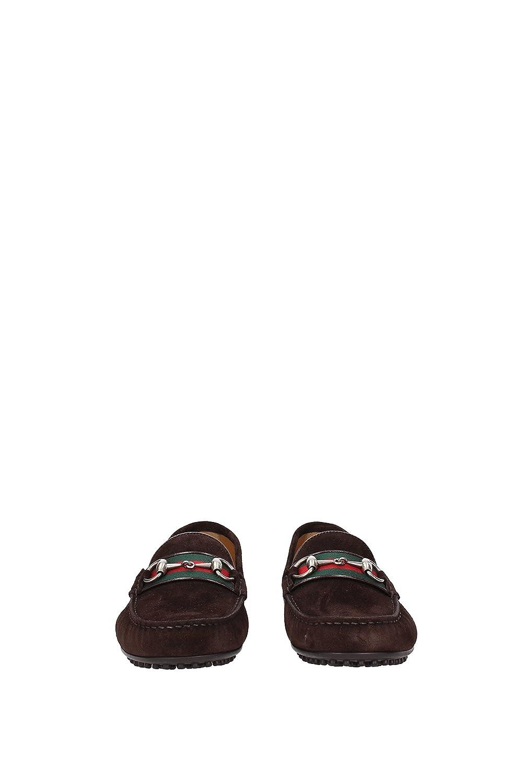 Mocasines Gucci Hombre - Gamuza (450892CMA40) EU: Amazon.es: Zapatos y complementos