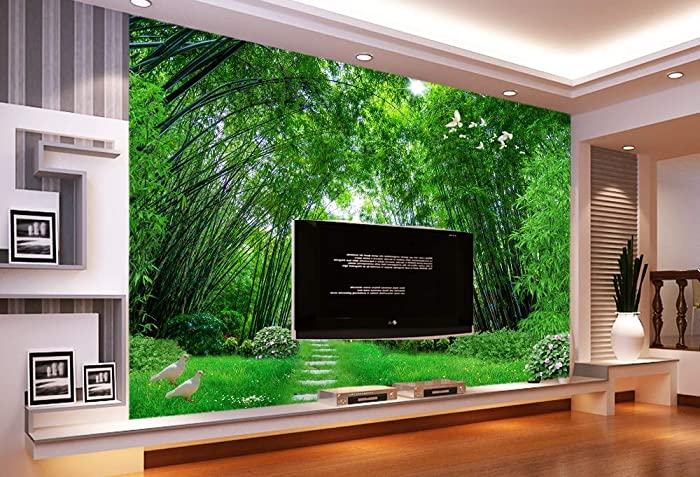Amazon.com: Murwall Forest Wallpaper 3D Photo Jungle Wall ... on natural home colors, natural home painting, natural home garden, natural home interiors, natural home furnishings, natural decorating, natural home design,