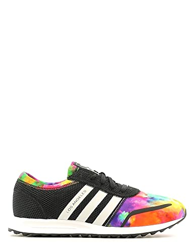 16cc9cb11e5 adidas Girls Originals Children Girls Los Angeles Trainers in Black - 11  Child