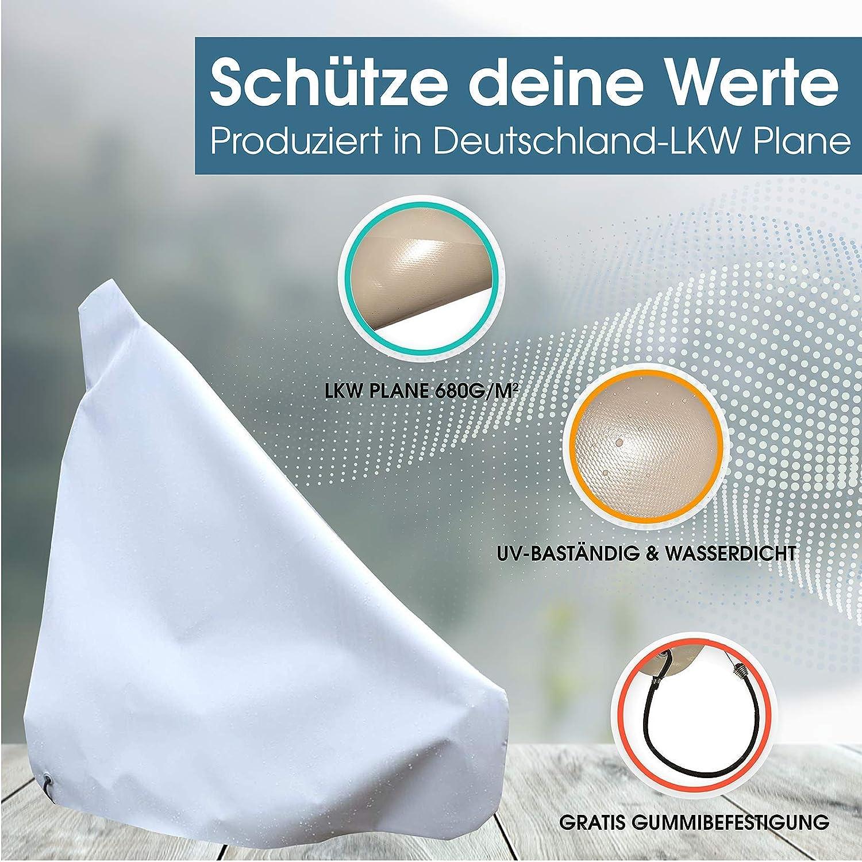 w-mtools B/âche de Protection pour /étang 680 g//m/²