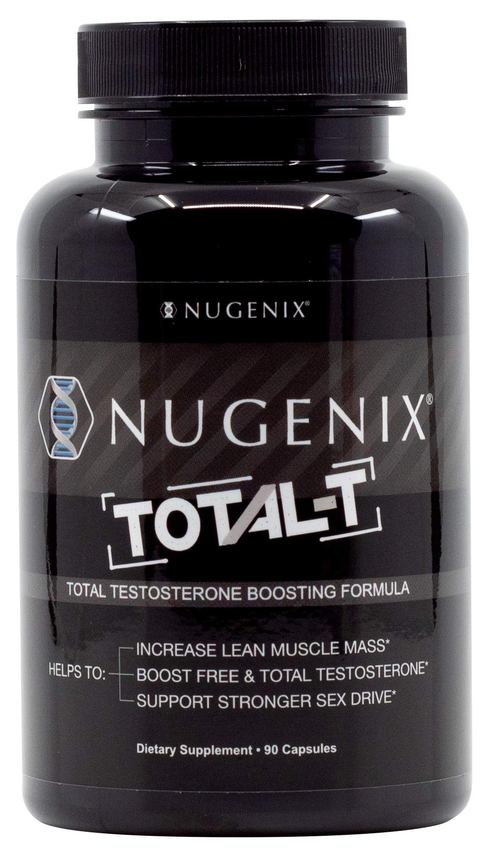 Nugenix Total-T: Men's Total Testosterone Boosting Formula. All New, High Potency, High Bioavailibility Testosterone Boosting Ingredients. Helps with Energy, Muscle, Libido, Stamina, and Drive by Nugenix (Image #2)