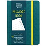 Boxclever Press Password Book with Alphabetical tabs. Never Forget a Password Again! Password Keeper for Internet login…